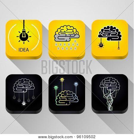 Icons Idea concept