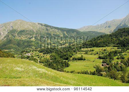 Landscape Near Dreznica