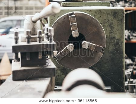 Lathe Tool Industrial Machine