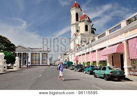CIENFUEGOS, CUBA - MAY 3, 2014