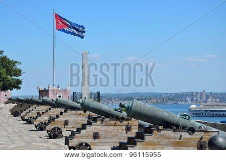 El Morro Cabana Forts In Havana, Cuba