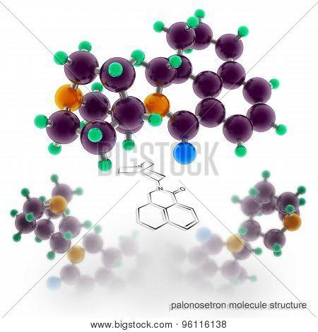 Palonosetron Molecule Structure