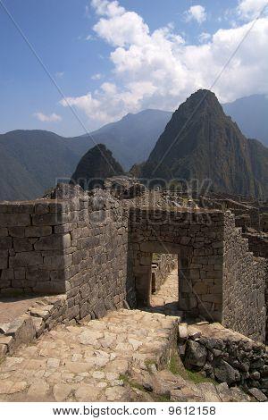 Machu Picchu main gate