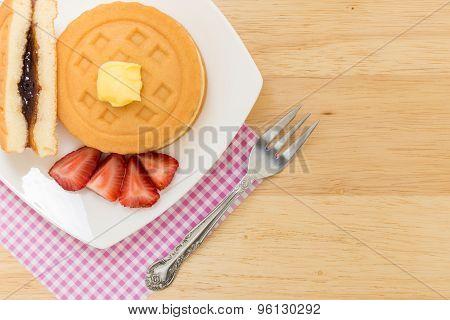 Waffle For Tea Break / Waffle For Coffee Break