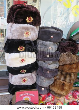 Russian Army Fur Caps