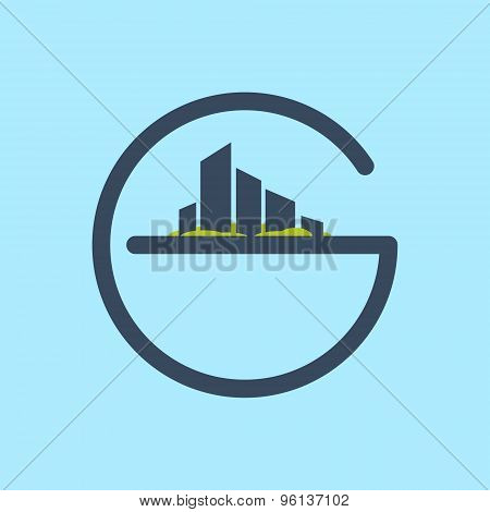 G Letter Line Logo