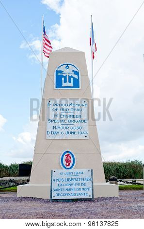 Utah Beach Memorial For 1St Engineer Special Brigade