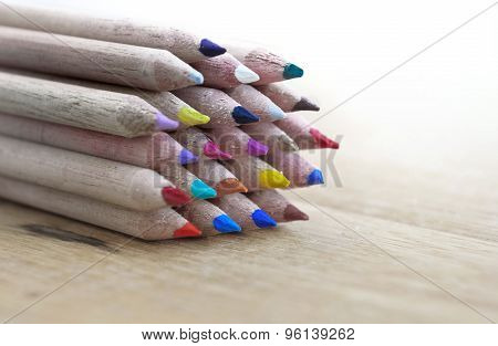 Colors Wooden Pencils