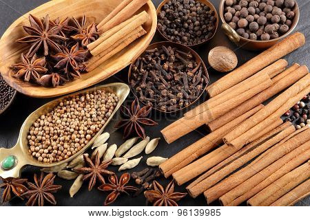 Brown Spices.