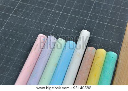 Chalks On Slate