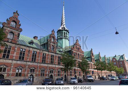 Stock Exchange Building Of Copenhagen