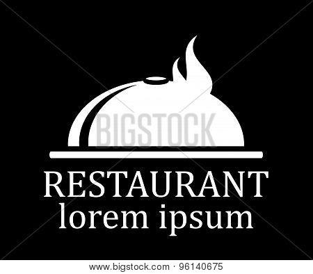 black restaurant menu icon
