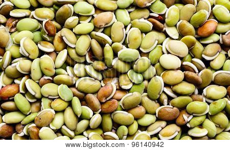 Lima beans background
