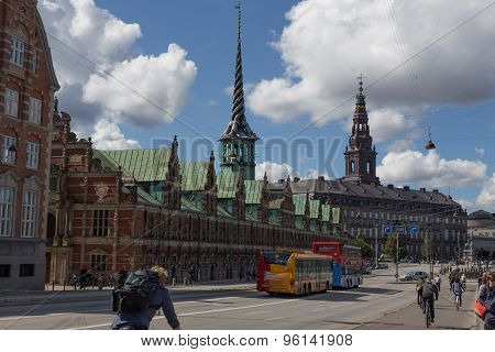 Exchange And Christiansborg
