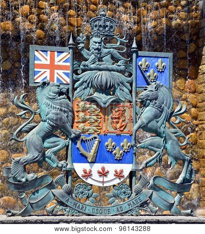 The Royal Coat of Arms of Canada