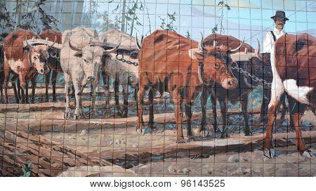 Mural tell the story of Chemainus