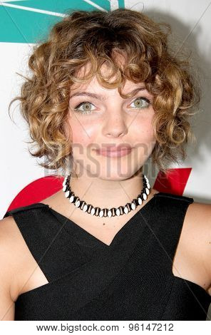 SAN DIEGO, CA - JULY 10: Camren Bicondova arrives at the 20th Century Fox/FX Comic Con party at the Andez hotel on July 10, 2015 in San Diego, CA.