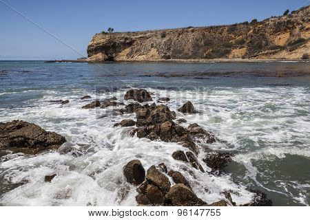 Abalone Cove in the Palos Verdes Estates area near Los Angeles, California.