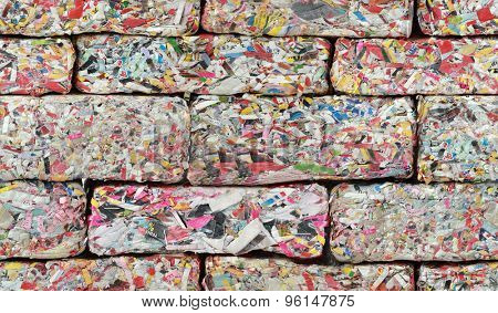 Paper Brick Seamless Texture Background
