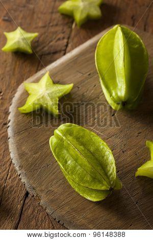 Raw Organic Star Fruit