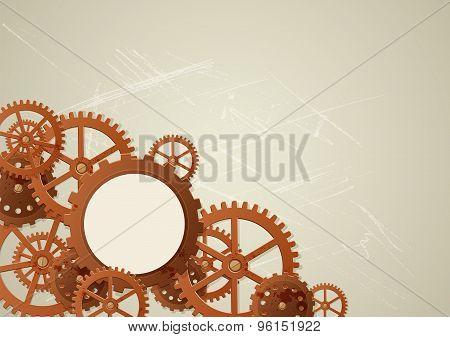 Vector Industrial Background