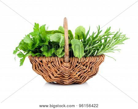 Sage, Parsley And Rosemary