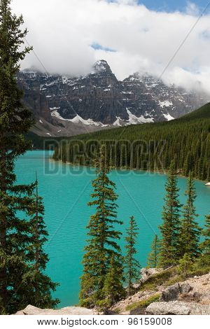 Moraine Lake - Stock image