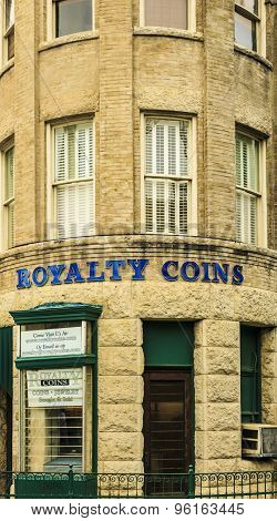 Royalty Coins Building