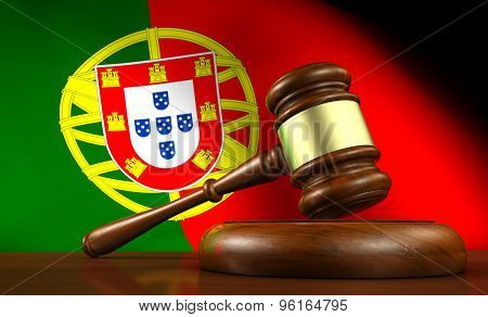 Portugal Law And Justice Concept
