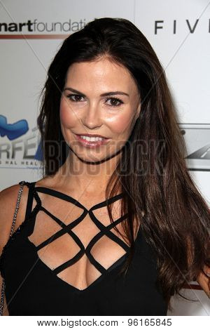 SAN DIEGO - JUL 16:  Ali Costello at the 9th Annual Celebrity Bowl for Charity at the Lucky Strike on July 16, 2015 in Los Angeles, CA