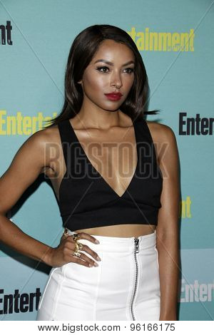 SAN DIEGO - JUL 11:  Kat Graham at the Entertainment Weekly's Annual Comic-Con Party at the FLOAT at The Hard Rock Hotel  on July 11, 2015 in San Diego, CA