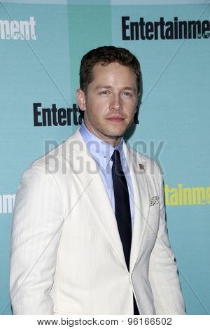 SAN DIEGO - JUL 11:  Josh Dallas at the Entertainment Weekly's Annual Comic-Con Party at the FLOAT at The Hard Rock Hotel  on July 11, 2015 in San Diego, CA