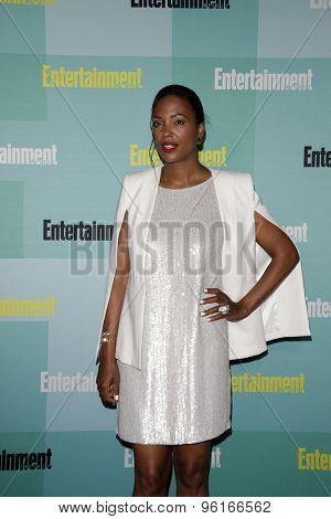 SAN DIEGO - JUL 11:  Aisha Tyler at the Entertainment Weekly's Annual Comic-Con Party at the FLOAT at The Hard Rock Hotel  on July 11, 2015 in San Diego, CA