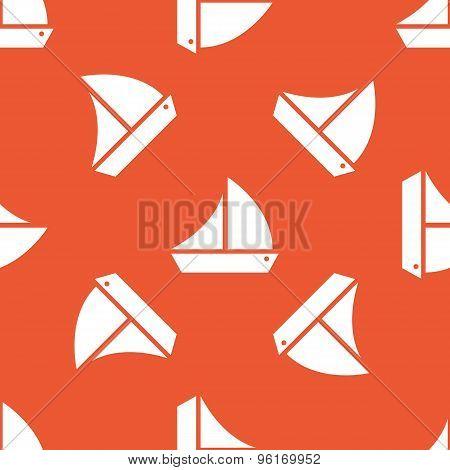 Orange ship pattern