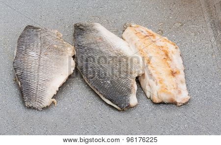 Grilled Sea Bream Close-up