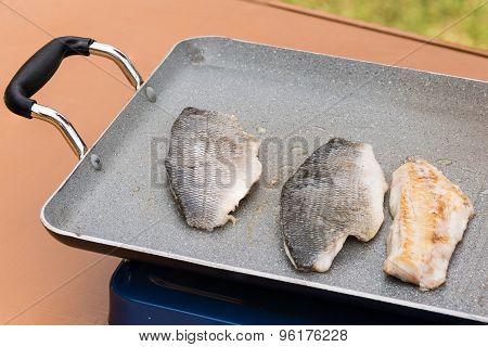 Grilled Sea Bream