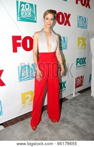 SAN DIEGO, CA - JULY 10: Laura Regan arrives at the 20th Century Fox/FX Comic Con party at the Andez hotel on July 10, 2015 in San Diego, CA.