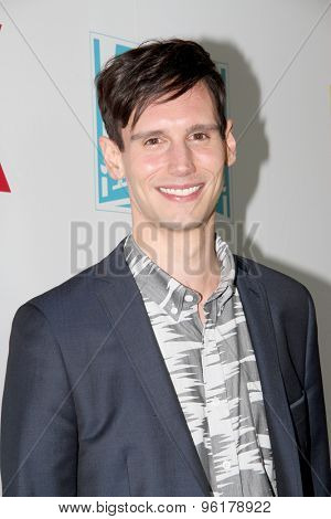 SAN DIEGO, CA - JULY 10: Cory Michael Smith arrives at the 20th Century Fox/FX Comic Con party at the Andez hotel on July 10, 2015 in San Diego, CA.