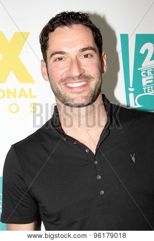 SAN DIEGO, CA - JULY 10: Tom Ellis arrives  at the 20th Century Fox/FX Comic Con party at the Andez hotel on July 10, 2015 in San Diego, CA.