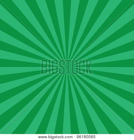 Green Burst Background