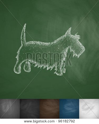 scottish terrier icon