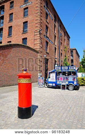The Liverpool Special Post Box.