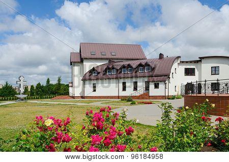 Hotel (church House) On Territory Of Pokrovo- Nicholas Church, Klaipeda, Lithuania