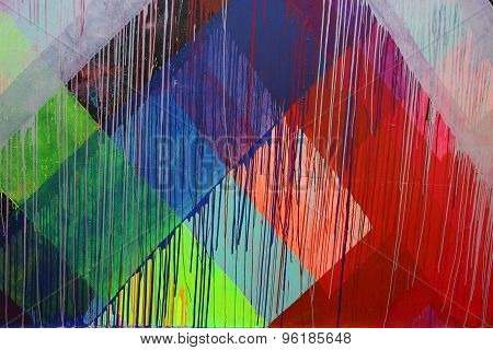 Mural art at new street art attraction Coney Art Walls