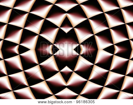 Symmetrical Fractal Pattern. Collection - Cells. Artwork For Creative Design