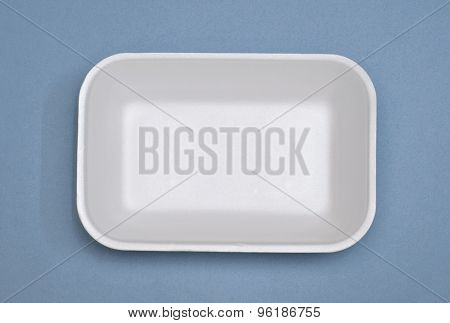 Styrofoam food tray
