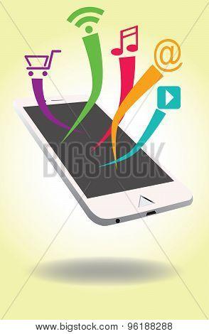 Smart phone Concept art