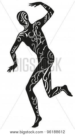 Dance Of Ethnic Man