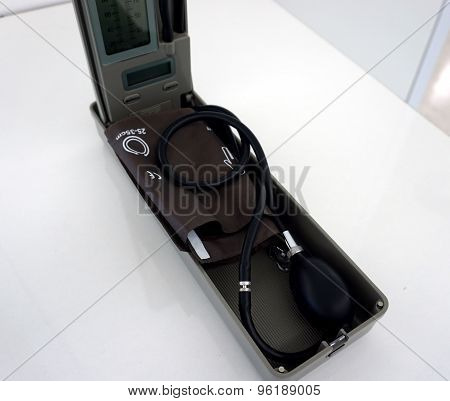 Sphygmomanometer For Blood Pressue Measurement.