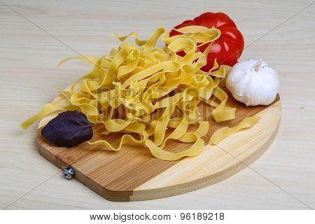 Raw Tagliatelle